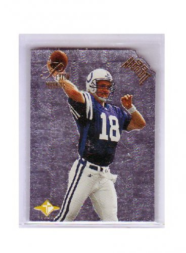 Peyton Manning 1998 Absolute Tandems RC #3B w/Brett Favre  Colts, Broncos