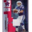 Peyton Manning 2007 Leaf Rookies & Stars Longevity Jersey #80 Colts, Broncos Serial #090/250