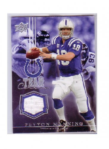 Peyton Manning 2008  UD Team Colors Jersey #TC-PM Colts, Broncos