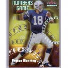 Peyton Manning 2000 Fleer Mystique Numbers Game #2 of 10 NG  Colts, Broncos