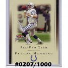 Peyton Manning  2002 Fleer Premium All-Pro Team #20-APT Colts, Broncos #/1000