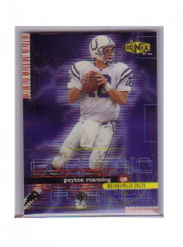 Peyton Manning 1999 UD Ionix Electric Forces #EF-11 Colts, Broncos