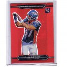 #/25 Eric Decker 2010 Topps Platinum Red Refractor #151 Broncos RC