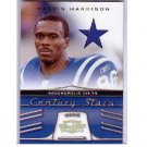 #/25 Marvin Harrison 2006 Threads Century Stars Jersey #CS-9 Colts