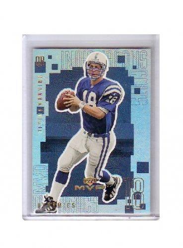 Peyton Manning 1999 Upper Deck MVP Dynamics #D10 Colts, Broncos