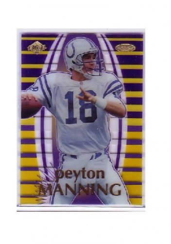 Peyton Manning 1999 Collector's Edge Masters Majestic #M12 Colts #/3000