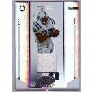Edgerrin James 2004 Leaf Certified Materials Jersey #48 Colts