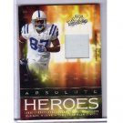 Reggie Wayne 2007 Absolute Heroes Jersey #AH-23 Colts #/200