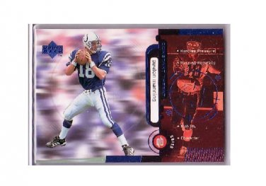 Peyton Manning 1998 Upper Deck Constant Threat #CT-2 Colts, Broncos