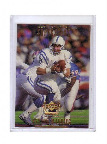 Peyton Manning 1999 Upper Deck Century Legends 20th Century Superstars #S10  Colts, Broncos