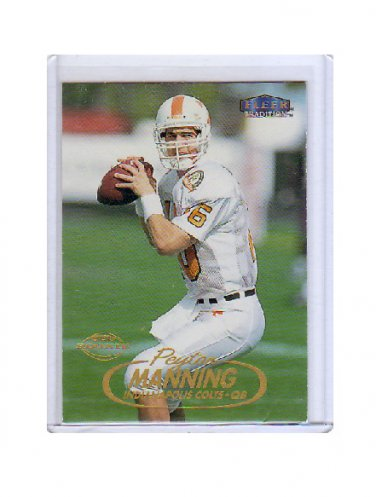 Peyton Manning 1998 Fleer Tradition #235 RC Rookie Colts, Broncos