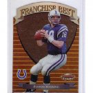 Peyton Manning 1999 Bowman's Best Franchise Best #FB7  Colts, Broncos