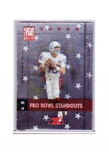 Peyton Manning 2003 Elite Pro-Bowl Standouts #PB-13 Colts #/2002