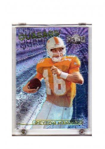 Peyton Manning 1998 Skybox Quasars #1 of 15 RC Rookie Colts, Broncos