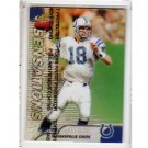 Peyton Manning 1999 Finest Refractors #142 SN Colts, Broncos