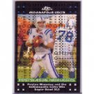 Peyton Manning 2007 Topps Chrome Xfractor #TC53 Colts, Broncos