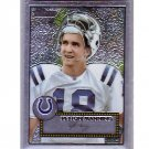 Peyton Manning 2006 Topps Heritage Chrome #THC63 1952 Style Colts, Broncos Serial #/1952