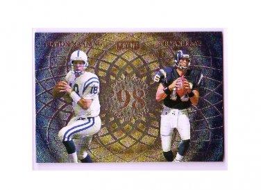 Peyton Manning 1998 Bowman Scout's Choice #SC1 RC Rookie Colts, Broncos