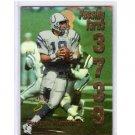 Peyton Manning 1999 Score Numbers Game #6  Colts, Broncos  #/3739