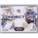 Peyton Manning 2009 Prestige Connections #9 Colts, Broncos w/Harrison
