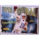 Peyton Manning 2000 Fleer Showcase Supernatural #7 of 10 SN Colts, Broncos