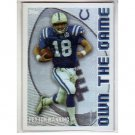 Peyton Manning 2003 Topps Own the Game #OTG8 Colts, Broncos