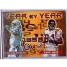 Peyton Manning 2000 Bowman's Best Year by Year #Y1 Colts Randy Moss