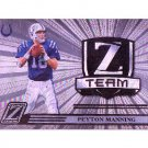 Peyton Manning 2005 Zenith Z-Team #ZT-12 Colts