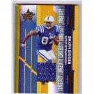Reggie Wayne 2006 Leaf R&S Longevity Jersey #49 Colts #/250