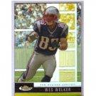 Wes Welker 2008 Finest Gold Refractor #62 Broncos, Patriots #/50
