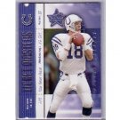 Peyton Manning 2000 Leaf Ticket Masters #IM13 Colts, Broncos #/2000