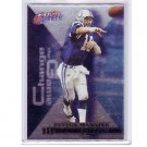 Peyton Manning 2000 Fleer Gamers Change the Game #8 of 15 CG Colts, Broncos