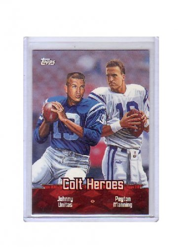 Peyton Manning 2000 Topps Combos Colt Heroes #TC1 Colts, Broncos