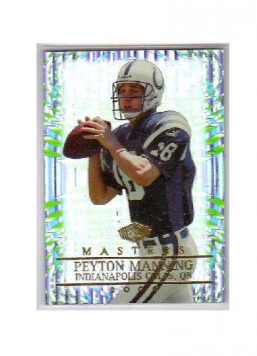 Peyton Manning 2000 Edge Masters #76 Colts, Broncos #/2000