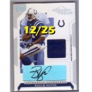 #/25 Reggie Wayne 2006 Playoff Gold Signature Proof Autographed Prime Jersey #49 Colts