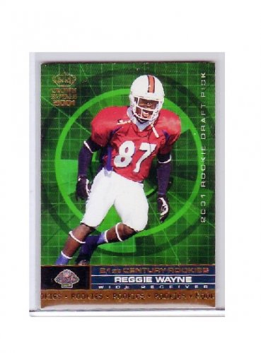 Reggie Wayne 2001 Crown Royale 21st Century Rookies #24 RC Colts
