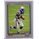 Reggie Wayne 2001 Topps #344 RC Colts
