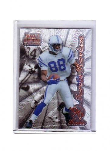 Marvin Harrison 1996 Select Certified #91 RC Colts