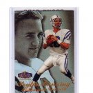 Peyton Manning 1998 Flair Showcase Row 3 #3 RC Rookie Colts, Broncos