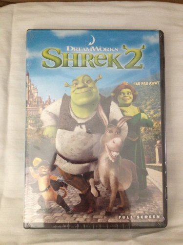 Shrek 2 (DVD, 2004, Full Screen)