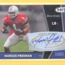 2009 Sage Hit Autograph Marcus Freeman RC Bears