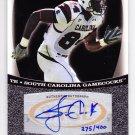 2009 Sage Autograph Silver Jared Cook RC /400 Titans