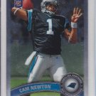 2011 Topps Chrome Cam Newton Panthers RC