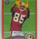 2011 Topps Chrome Orange Refractor Leonard Hankerson Redskins RC