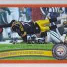 2011 Topps Chrome Orange Refractor Ben Roethlisberger Steelers
