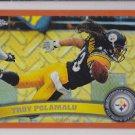2011 Topps Chrome Orange Refractor Troy Polamalu Steelers