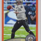 2011 Topps Chrome Orange Refractor Drew Brees Saints