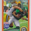2011 Topps Chrome Orange Refractor Clay Matthews Packers