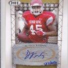 2011 Sage Hit Autograph Gold D.J. Williams Packers /250 DJ RC