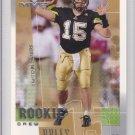 2001 Upper Deck MVP Drew Brees Saints RC
